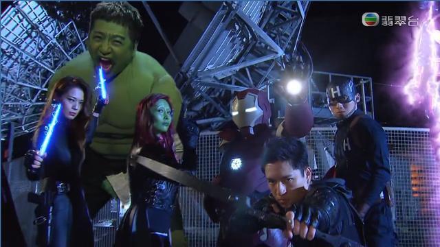 TVB处境剧恶搞《复仇者联盟》最搞笑的是他