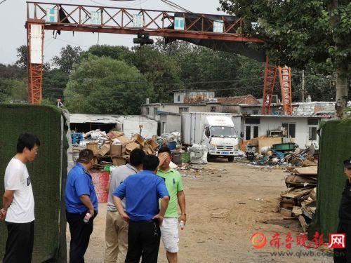 7月4日,山东济南一废品收购点发生燃烧事故,已致5人被烧伤。