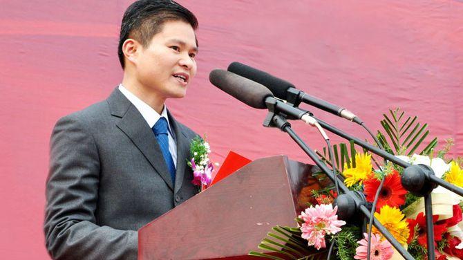 黄春发出席活动的照片。 图源:厦门合一集团官网