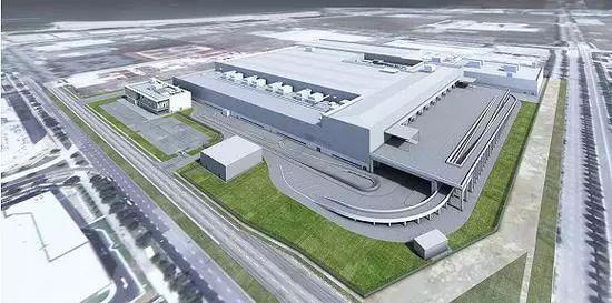 戴森公布的新加坡电动车工厂渲染图