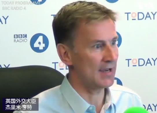 亨特接受采访 视频截图