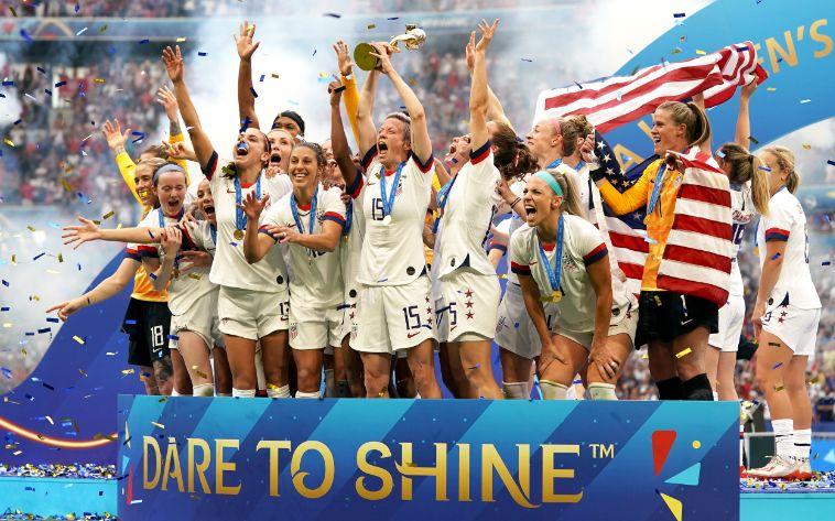 """成功卫冕女足世界杯冠军 美国女足仍是""""霸主"""""""