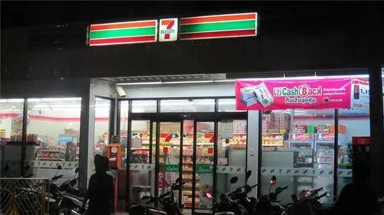 日本知名连锁便利店7-Eleven资料图