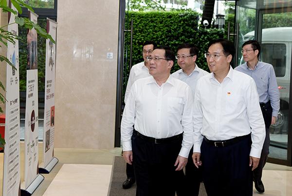 「滑县版唐伯虎点秋香」李强赴这2个上海国资平台公司调研