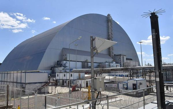乌克兰切尔诺贝利核电站。 视觉中国 资料图