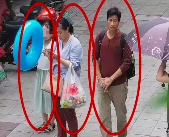 7月7日,三人的监控画面。图据淳安县公安局微信公众号