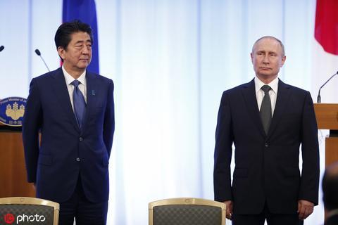 日媒:因擔憂美軍進駐 俄拒絕向日移交兩爭議島嶼