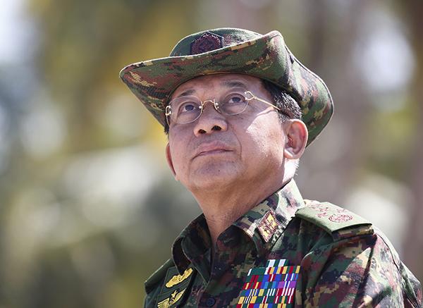 指缅甸国防军总司令等侵犯人权 美国宣布禁止入境
