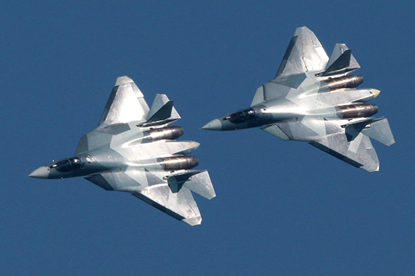 俄罗斯苏-57战斗机