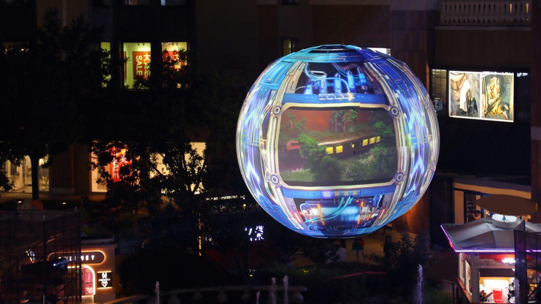 北京上海同时点亮芒果星球,刘烨魏巡打卡星球引领新潮流