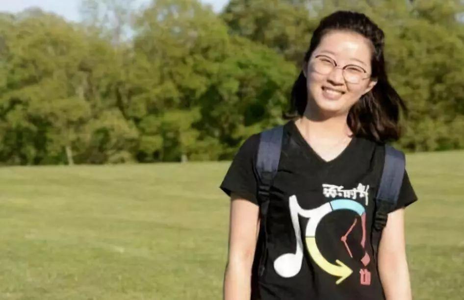 ▲中国访问学者章莹颖。(图源:美联社)