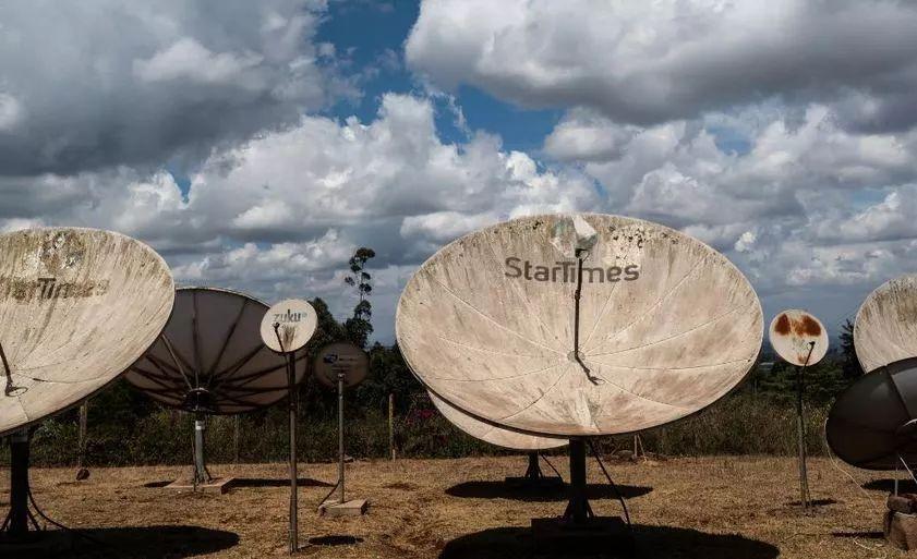 四達時代在肯尼亞的一個傳播站點? 圖源:CNN
