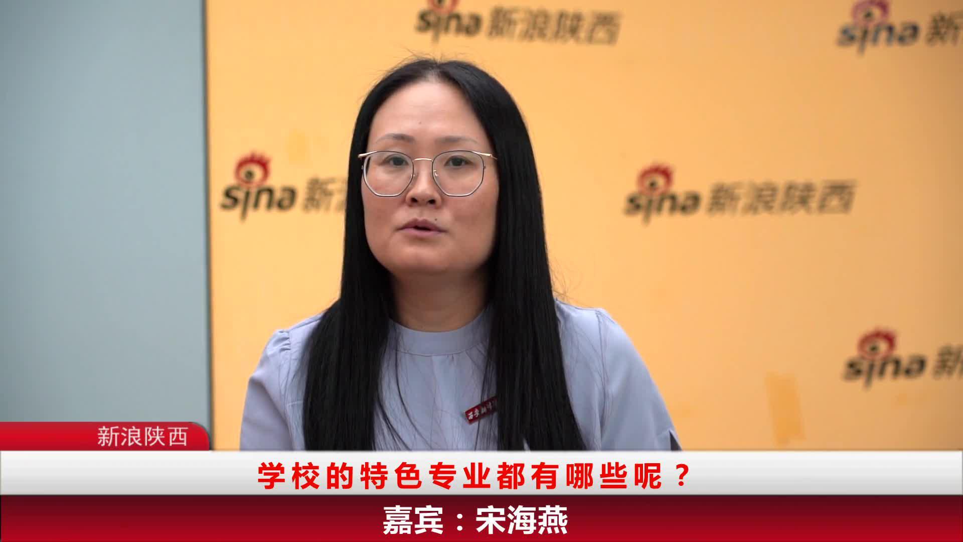 新浪陕西专访西安翻译学院招生处副处长宋海燕