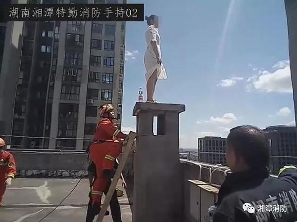 本文图均为湘潭消防微信公众号 图