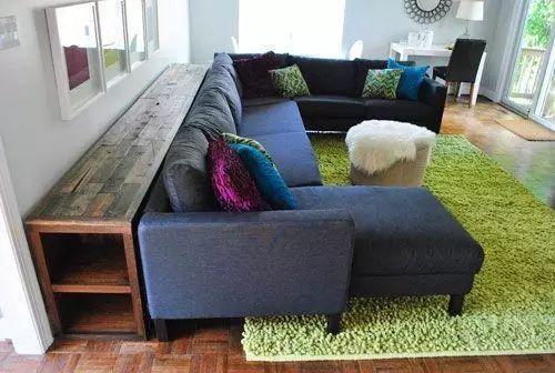 沙发往前移了10公分,居然成了一种新潮流……