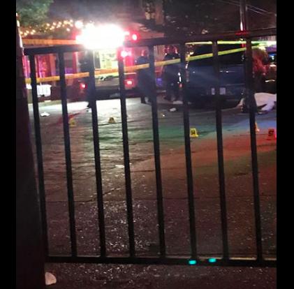 俄亥俄州枪击案目击者在社交网络上传案发现场情况。