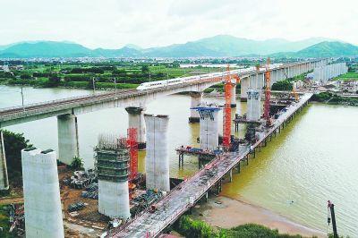福厦高铁厦门至漳州段建设有序推进
