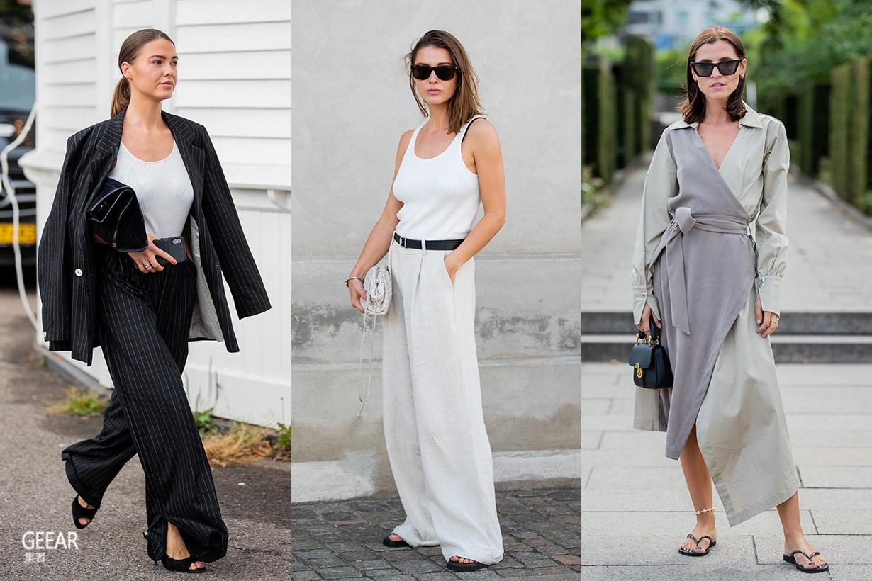 哥本哈根街头的北欧风穿搭:时尚女生只关注这4大潮流!
