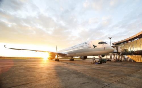 资料图:国泰航空。图片来源:国泰航空网站