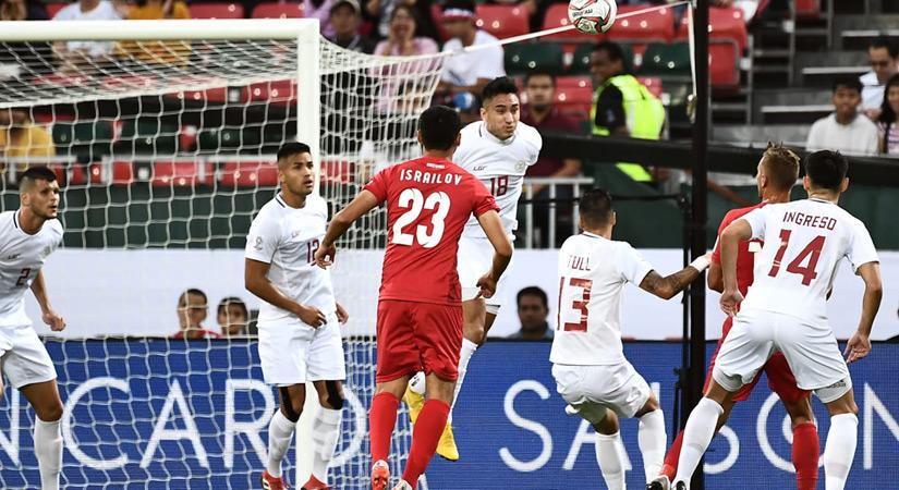 国足40强赛对手菲律宾万博增补7名归化球员,全队备战积极