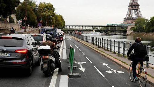 """大巴黎单车协会欲携手打造""""自行车快线""""-领骑网"""