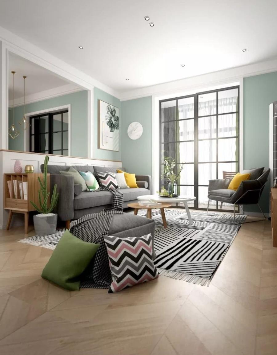 晒晒120平北欧风格房子,内部有很多ins风家具,非常潮流