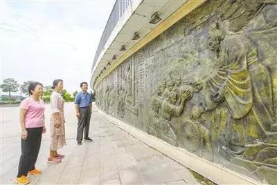 夏日白河系列报道之人文白河 雕塑,白河边儿讲述南阳历史