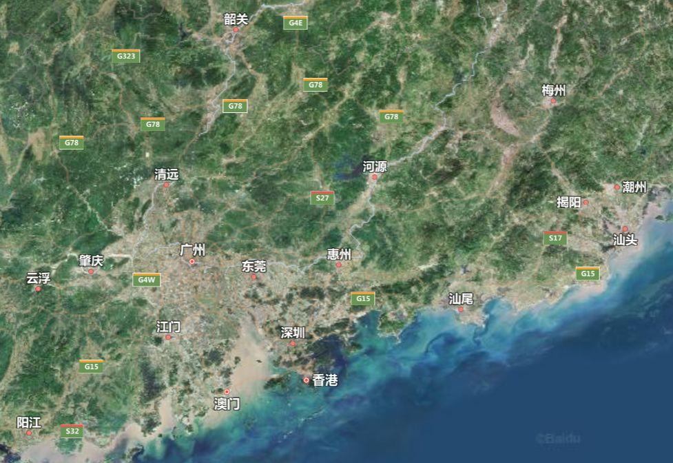 除了珠三角,广东大部分地方地理条件都算不上有多优越