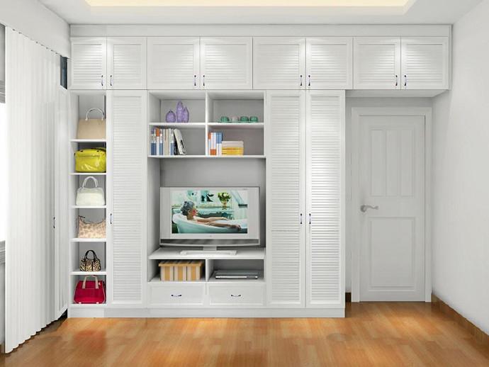 越来越多人卧室不买大衣柜了,如今潮流装这种,好看还省地方