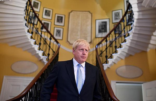 英国首相约翰逊。视觉中国 资料