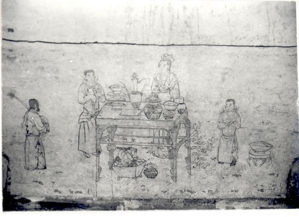 北魏见庖厨宴乐 元代现山水人物