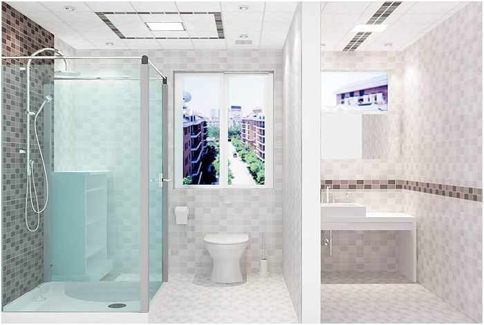 卫生间集成吊顶效果图,都市新潮流