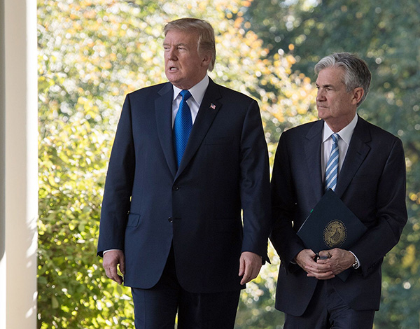 全球央行行长年会将至 特朗普呼吁美联储再降息