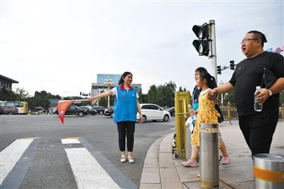 北京:认领路口两年 市城管委志愿队伍增至130余人