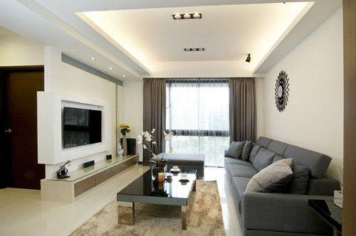现代装修电视背景墙效果图 现代时尚潮流的电视背景墙