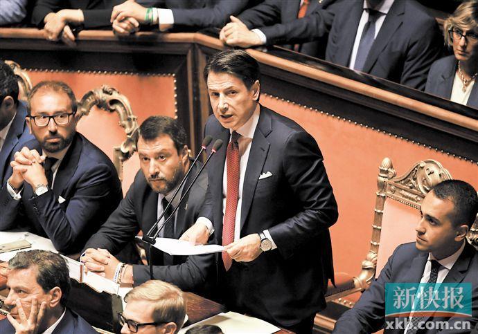 意大利总理辞职 任前曾是法学教