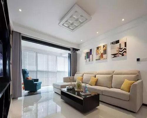 老婆单纯的想穷装新房,赶潮流刷白墙,来过的朋友都说装修太简单