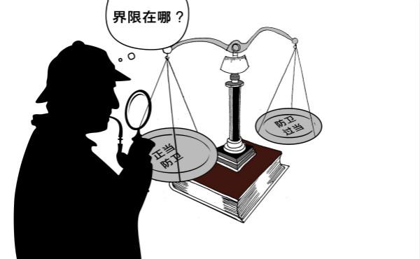 """新民快评丨男子持刀砸门被""""反杀"""",""""正当防卫""""再受考验"""