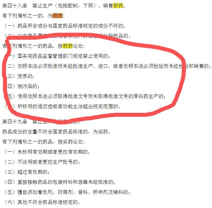 现走股票排名《中华人民共和国药品管理法》