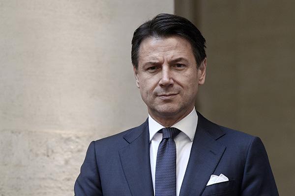 意大利兩黨派就總理人選達成一致:孔特將留任