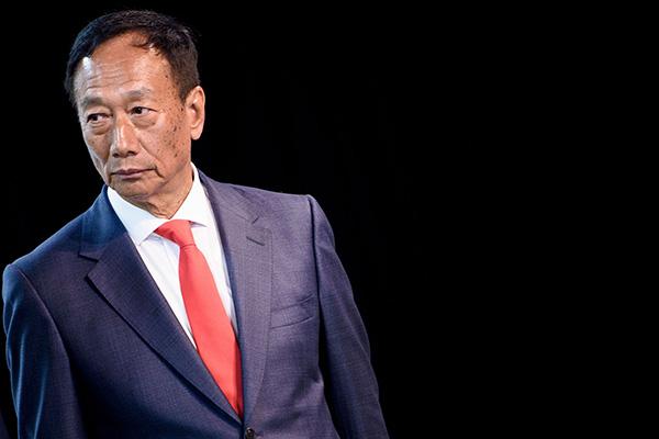 郭台铭。视觉中国 资料