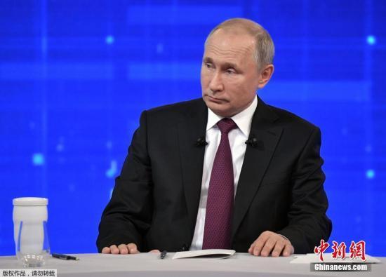 俄罗斯地方选举投票日 普京在莫斯科参与投票