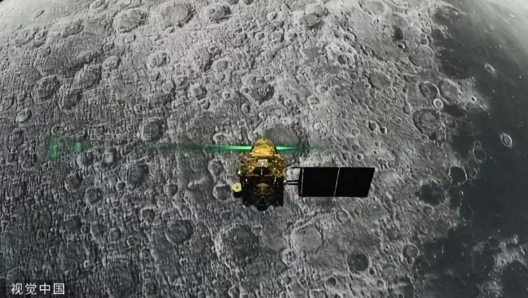 """▲""""月船2号""""着陆器"""