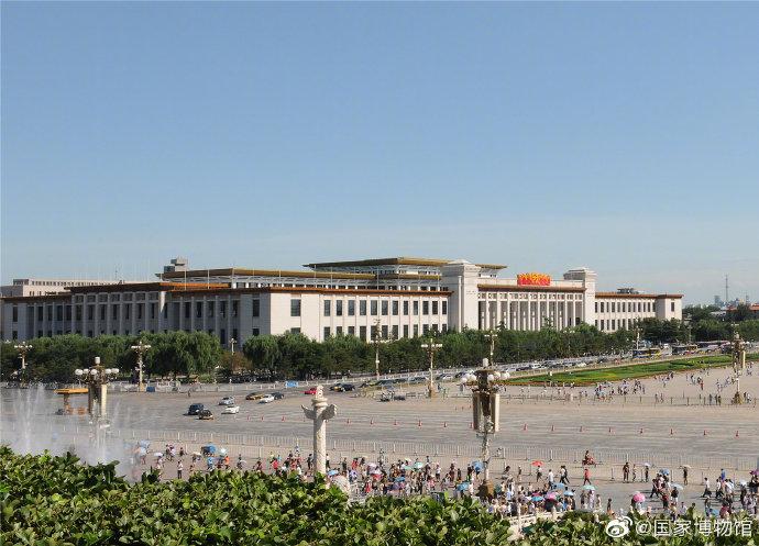 中国国家博物馆9月21日至10月2日暂停开放