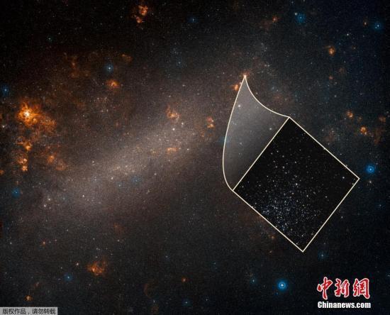 资料图:当地时间2019年4月,美国宇航局科研人员称,通过哈勃太空望远镜的新观测成果进一步确认了宇宙在加速膨胀,现在的膨胀速度比根据早期宇宙特征预测的膨胀速度快大约9%。图片来源:NASA