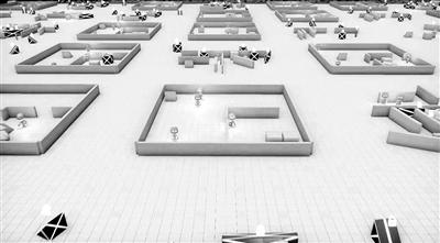 AI进走游玩的场景暗示图。图片来源:OpenAI公司