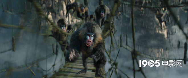 巨石强森对抗凶猛灵长动物 《勇敢者游戏2》升级