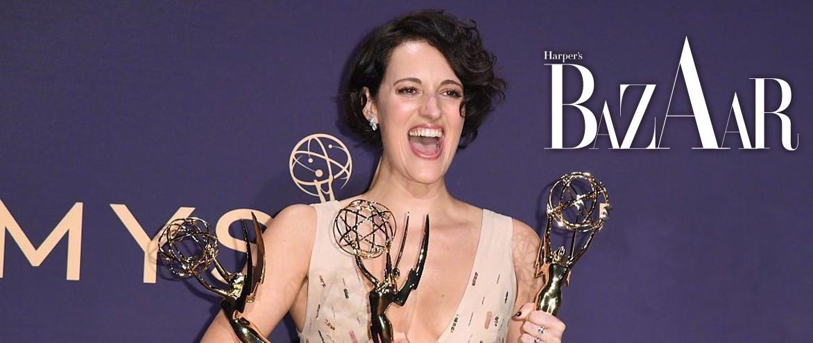 横扫艾美奖的她领奖前还在赶稿?最有份量的果真还是《权游》…