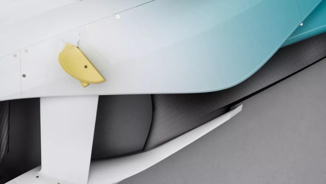 酷!蔚来汽车参加FE世锦赛的形象设计