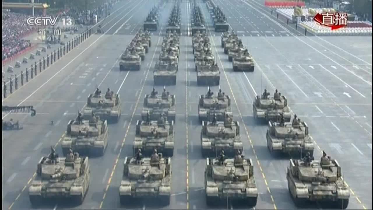 新中国成立70周年阅兵式完整版